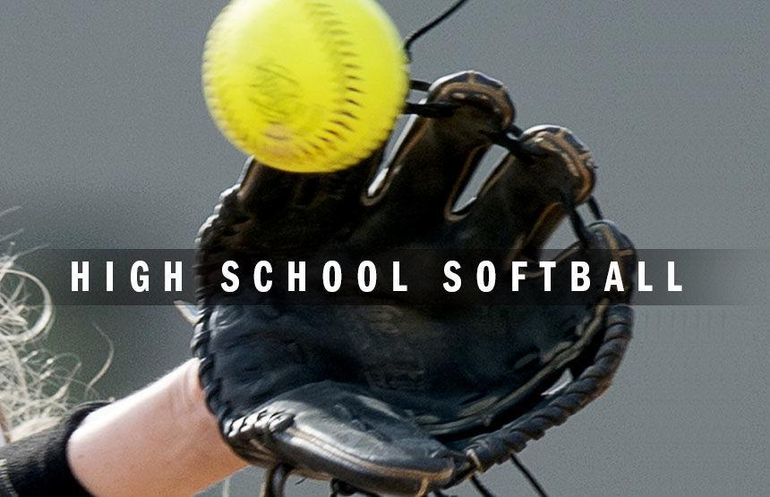 High school softball logo 2014