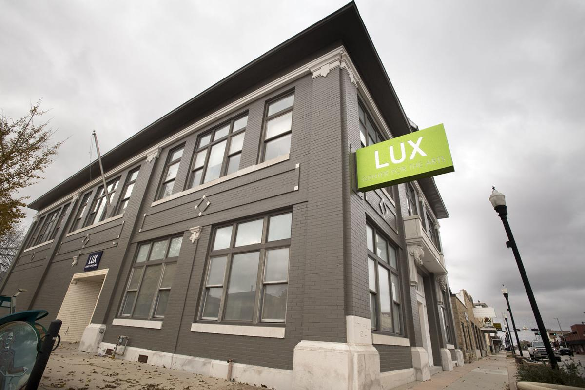 Lux Center for the Arts renovations