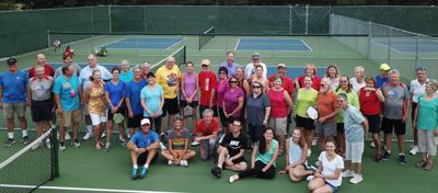 Pickleball Players' Potluck and Paddlework at Peterson Park