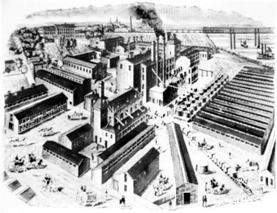 Jim McKee- Iler & Company's Willow Springs' distillery complex.
