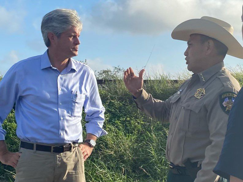 Jeff Fortenberry at Mexico border