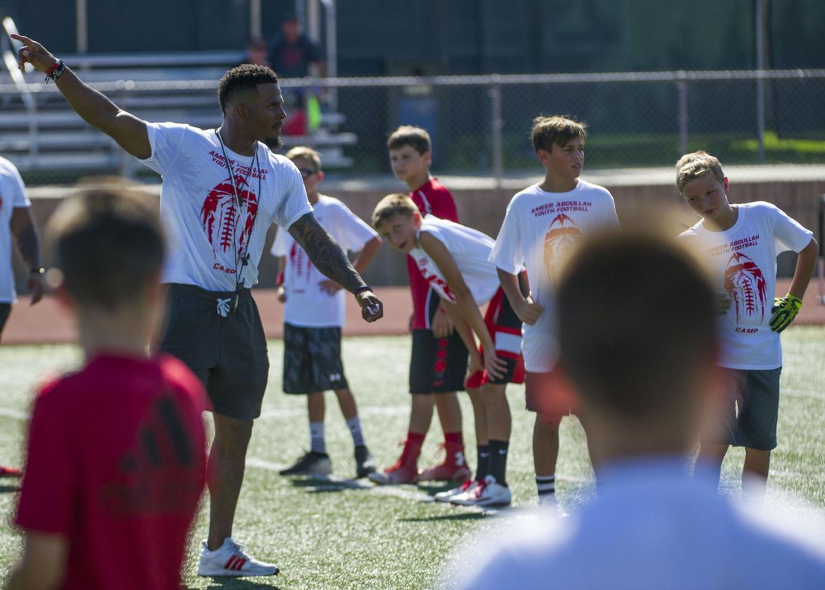 32f3974f Photos: Ameer Abdullah youth football camp a teaching tool ...
