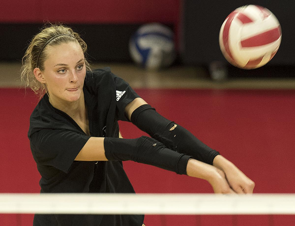 Husker volleyball camp