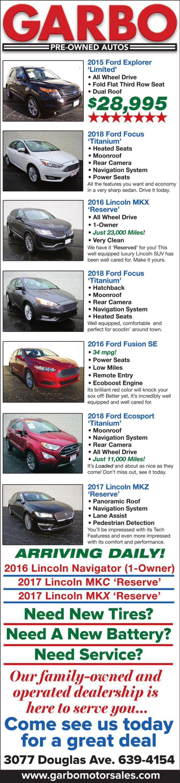 Garbo Motor Sales