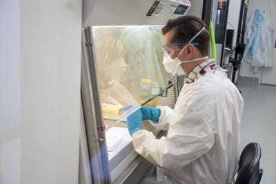 State lab worker