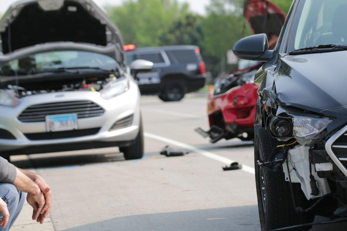 Four Friday afternoon crashes injure at least five | Local