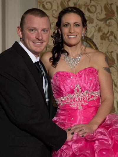 Chris Sedgwick and Jessica St. Martin