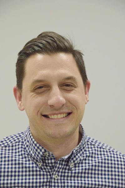Ryan Knudson, vice president of the Racine Education Association, 2016-17