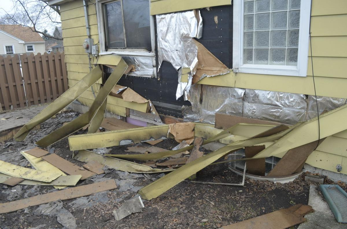 Explosion at Melvin Avenue home