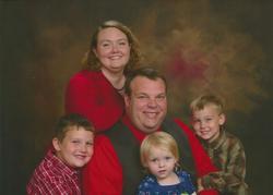 Glenn Miller and family