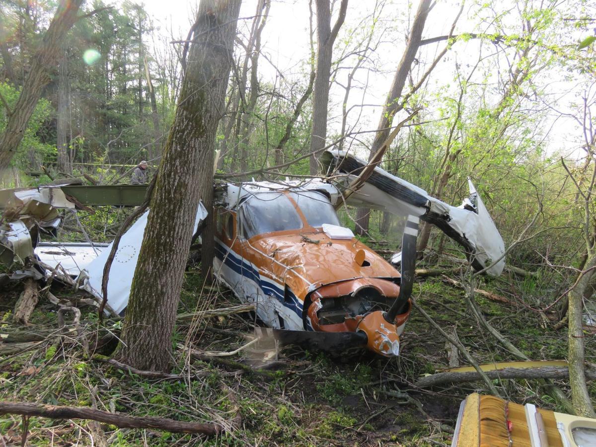 Plane crashes in Burlington