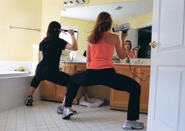 The hot squat