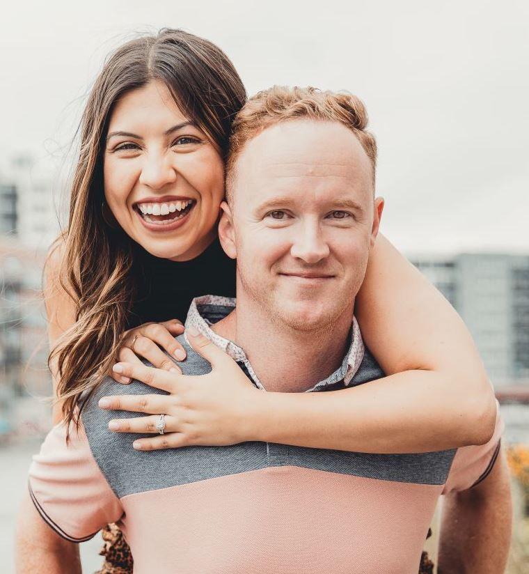 Briana King and Chad Ashley