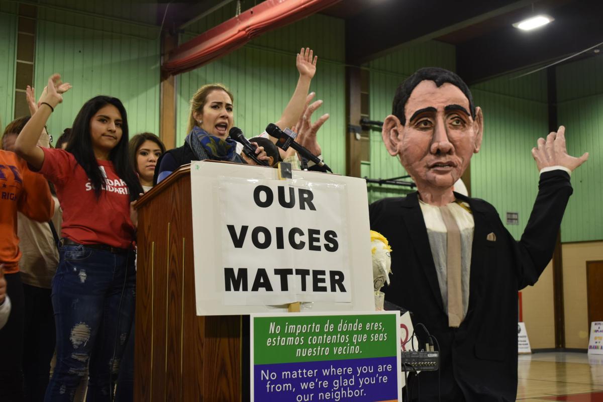 Racine immigration rally