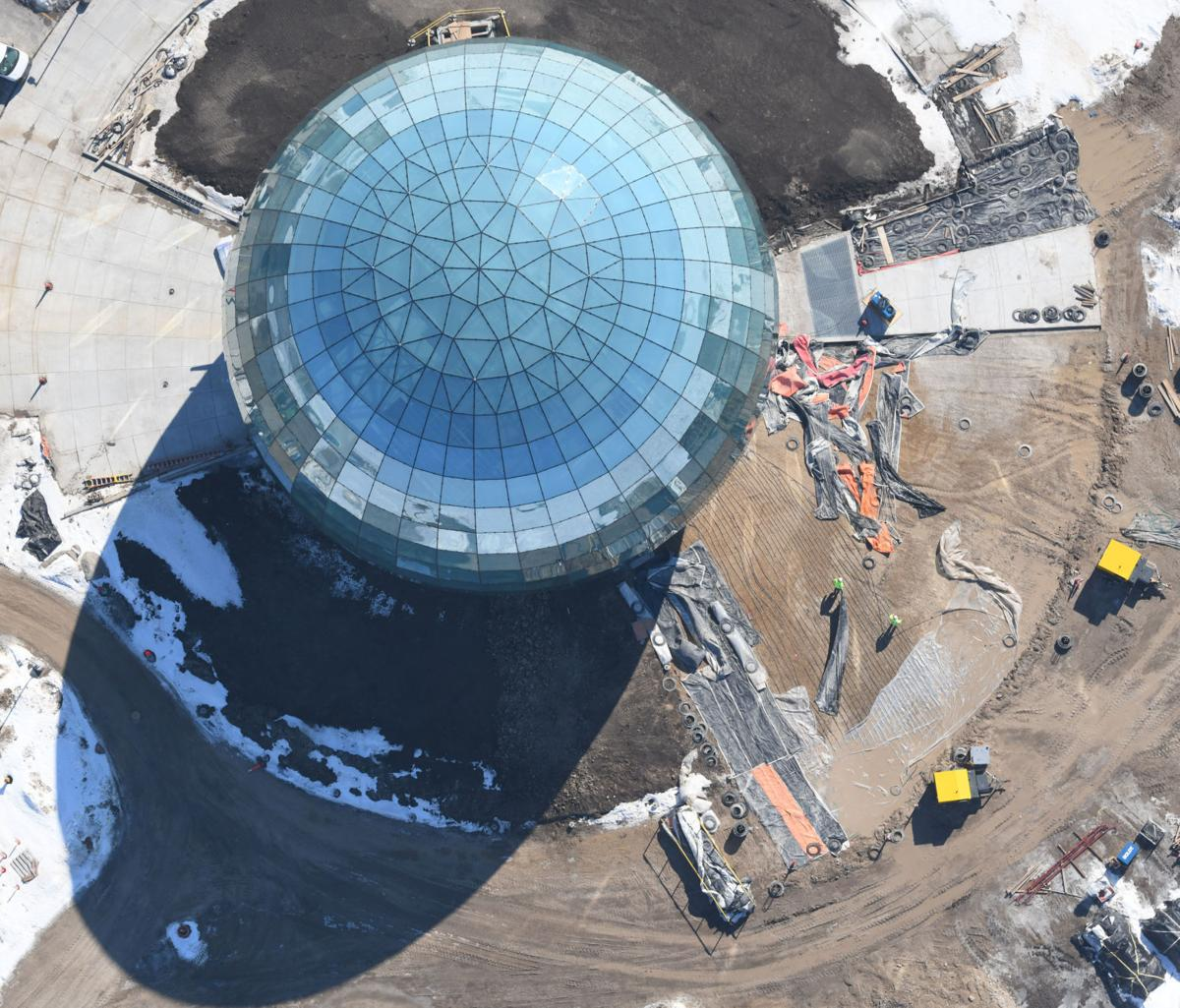 Foxconn High-Performance Computing Data Center Globe