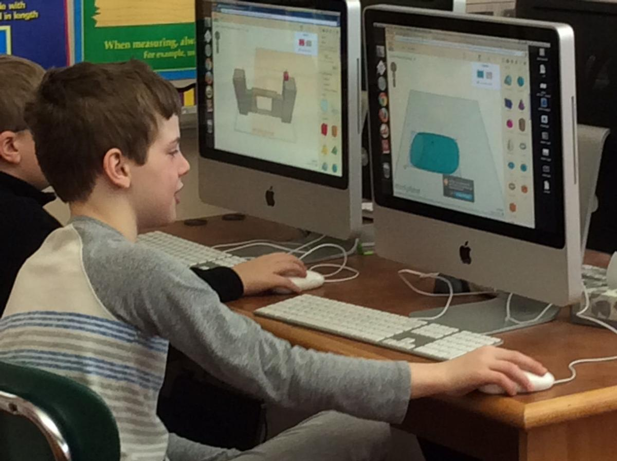 Prairie students participates in Genius Hour
