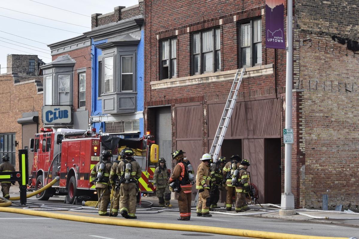 Uptown fire