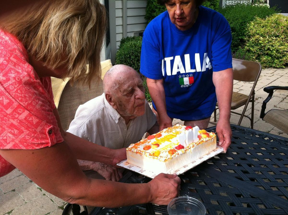 Celebrating 107th birthday
