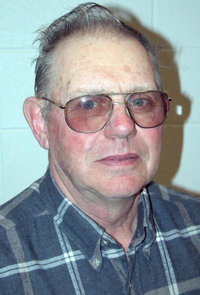 Ralph Rice, Burlington town chairman, local farmer, 2003 photo