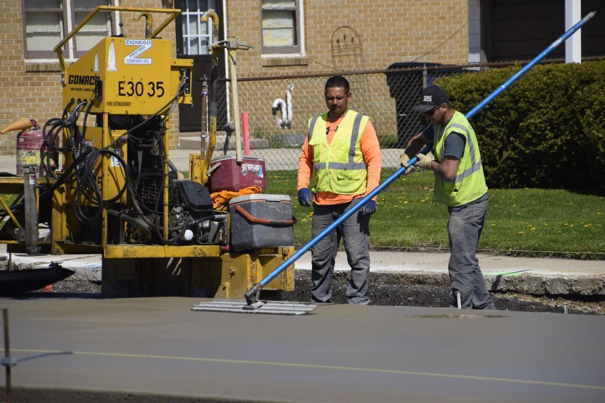 Durand Avenue reconstruction