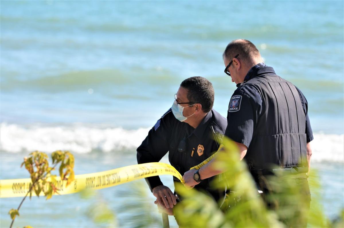 Oct. recovery efforts on Lake Michigan shoreline - Racine Police Department