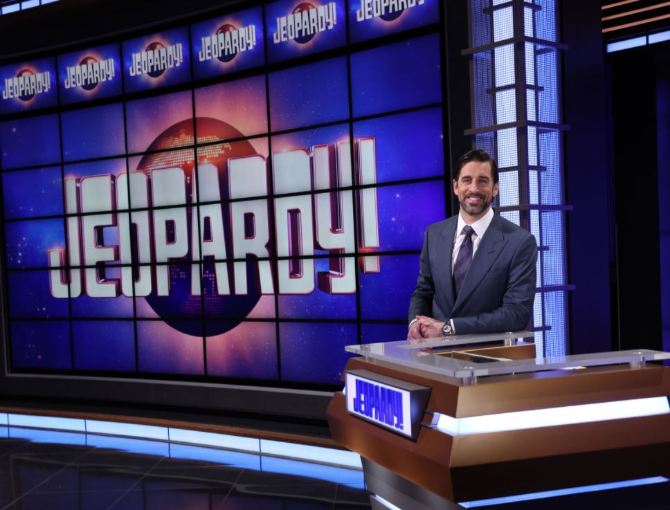 Aaron Rodgers hosts Jeopardy!
