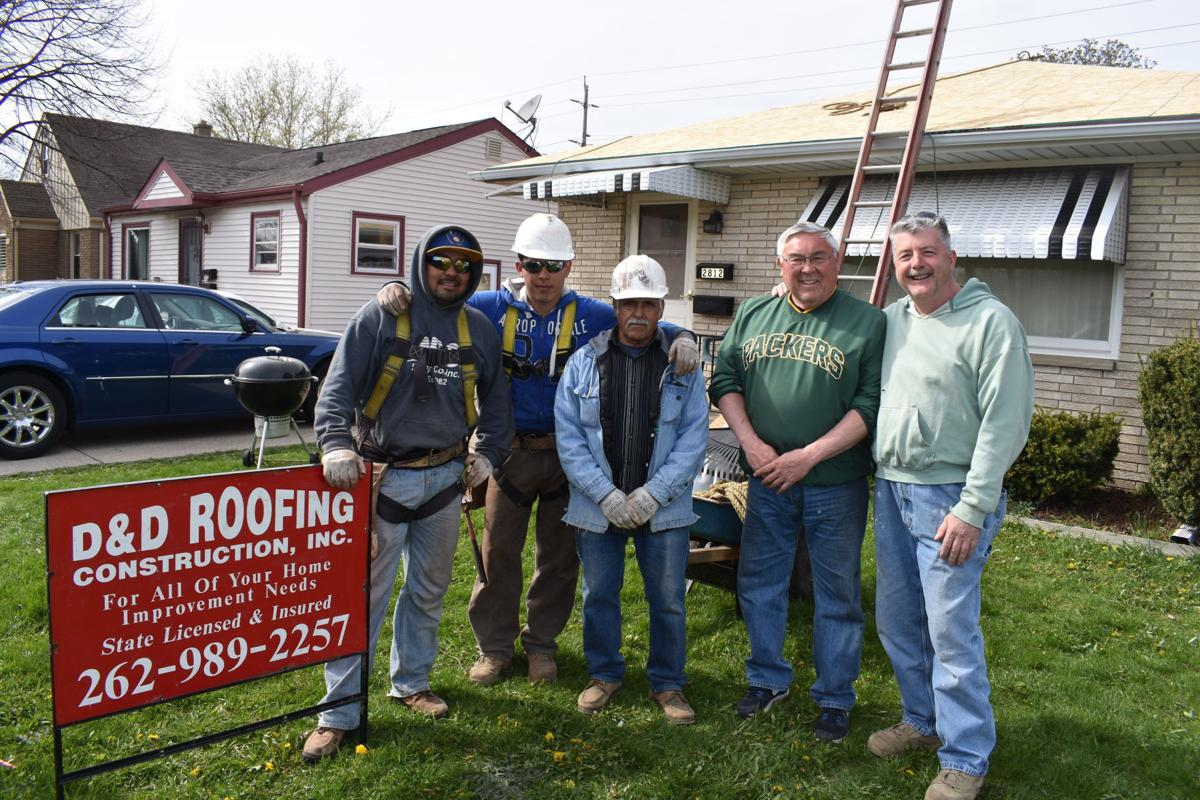 Veterans Help Comrade With Leaky Roof Local News