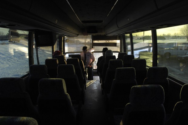 Bus to Madison