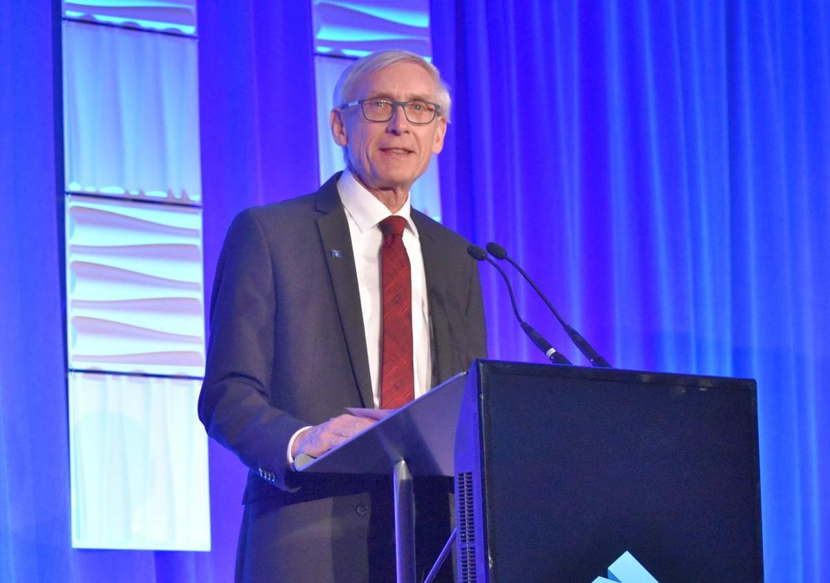 Gov. Evers at manufacturing conference