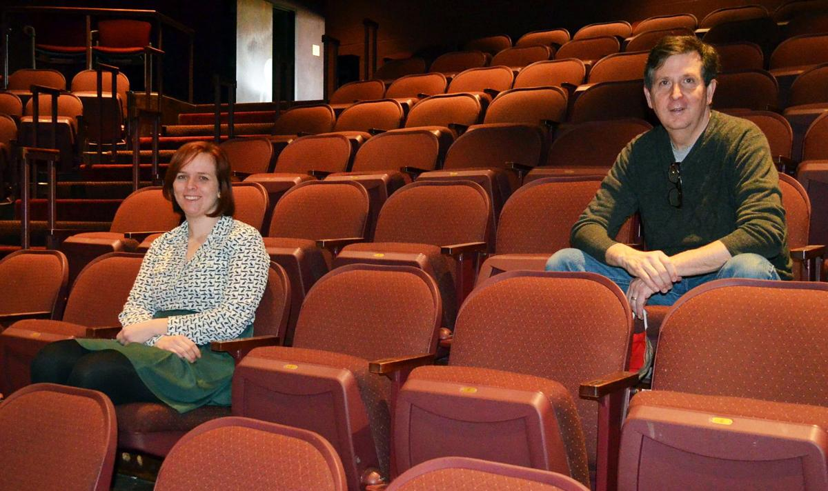 Joycelyn Fish and Doug Instenes.