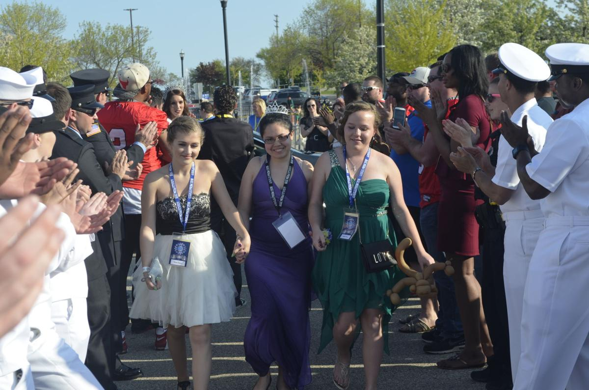 Special needs prom red carpet arrivals, May 22