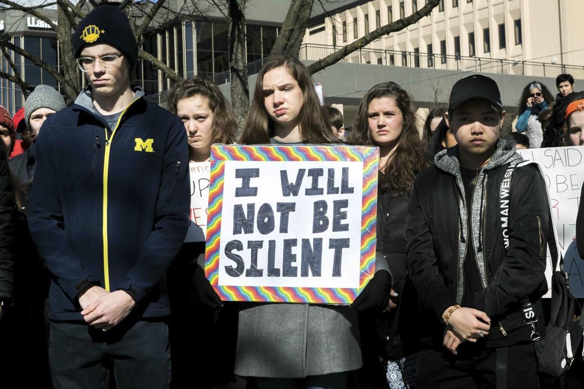 Michigan Gun Violence Protest