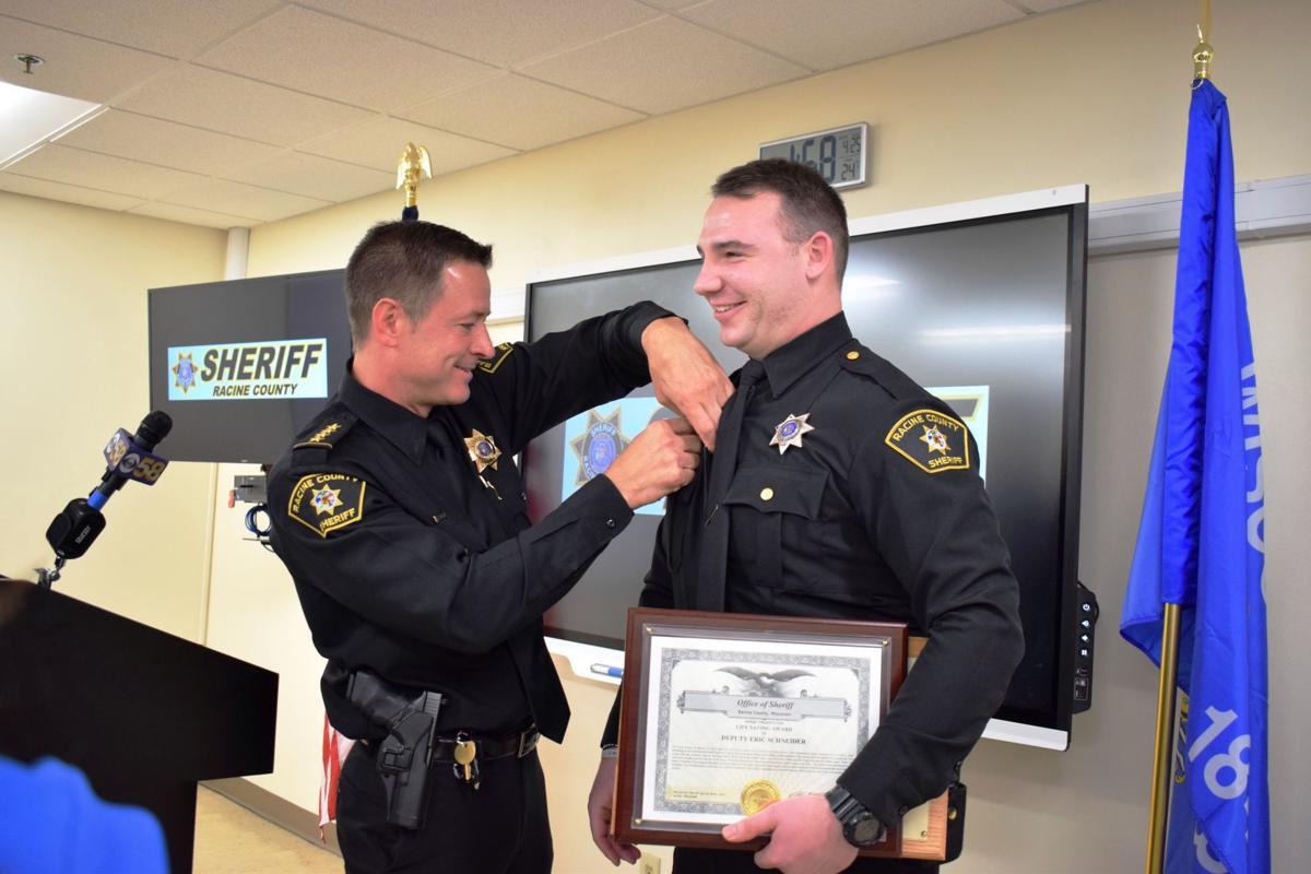 Deputy Eric Schneider honored