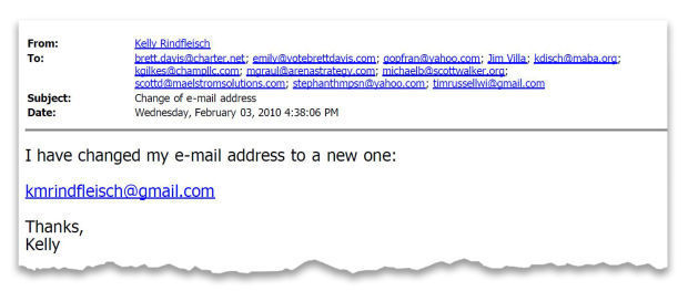 Doe Email Address
