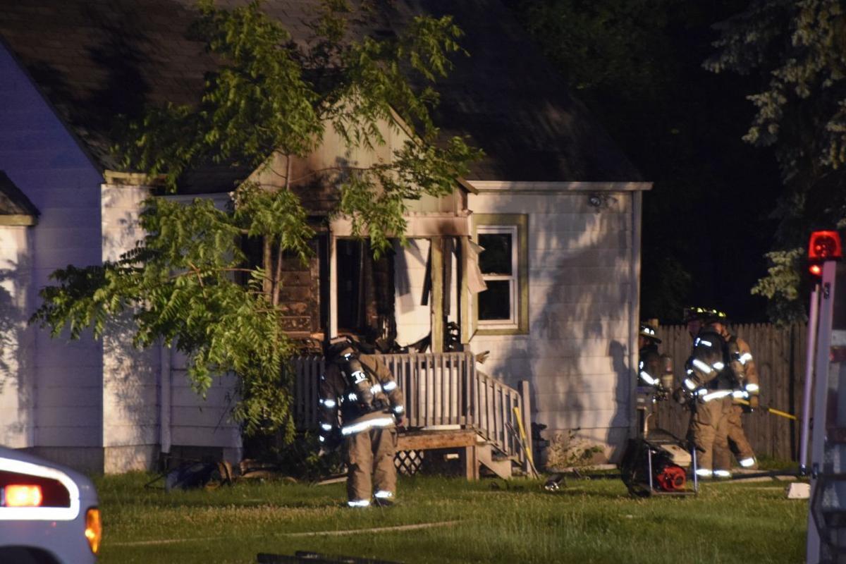 Durand Avenue fatal fire
