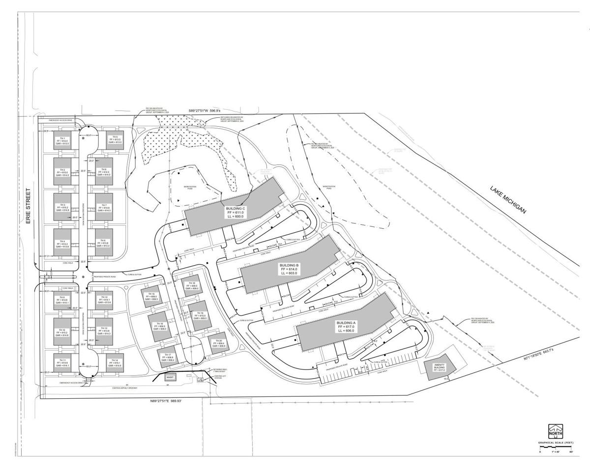 Water's Edge Condominium Development rendering
