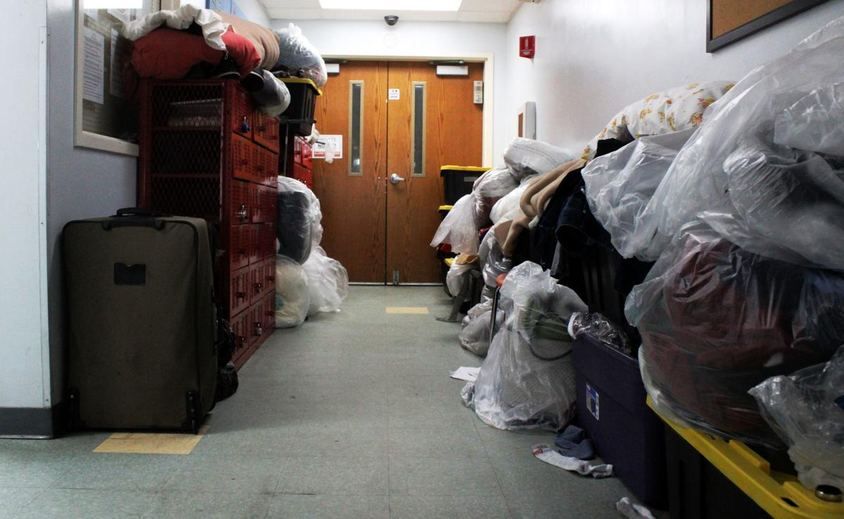 Homeless shelter overcrowding