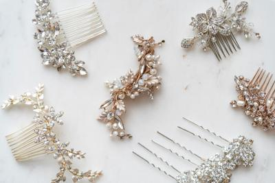 3 bridal hair accessories to elevate your look