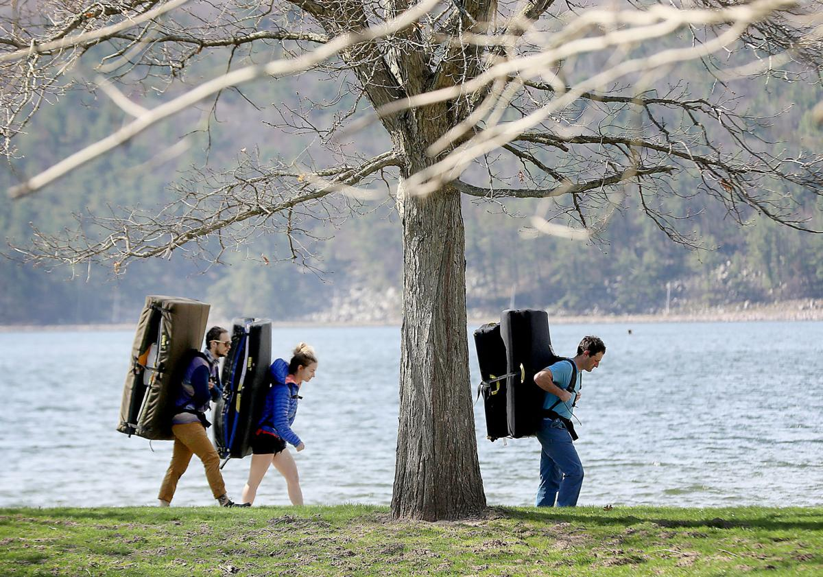 Devil's Lake reopens, State Journal photo