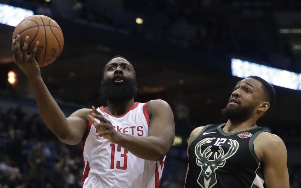 Rockets Bucks Basketball