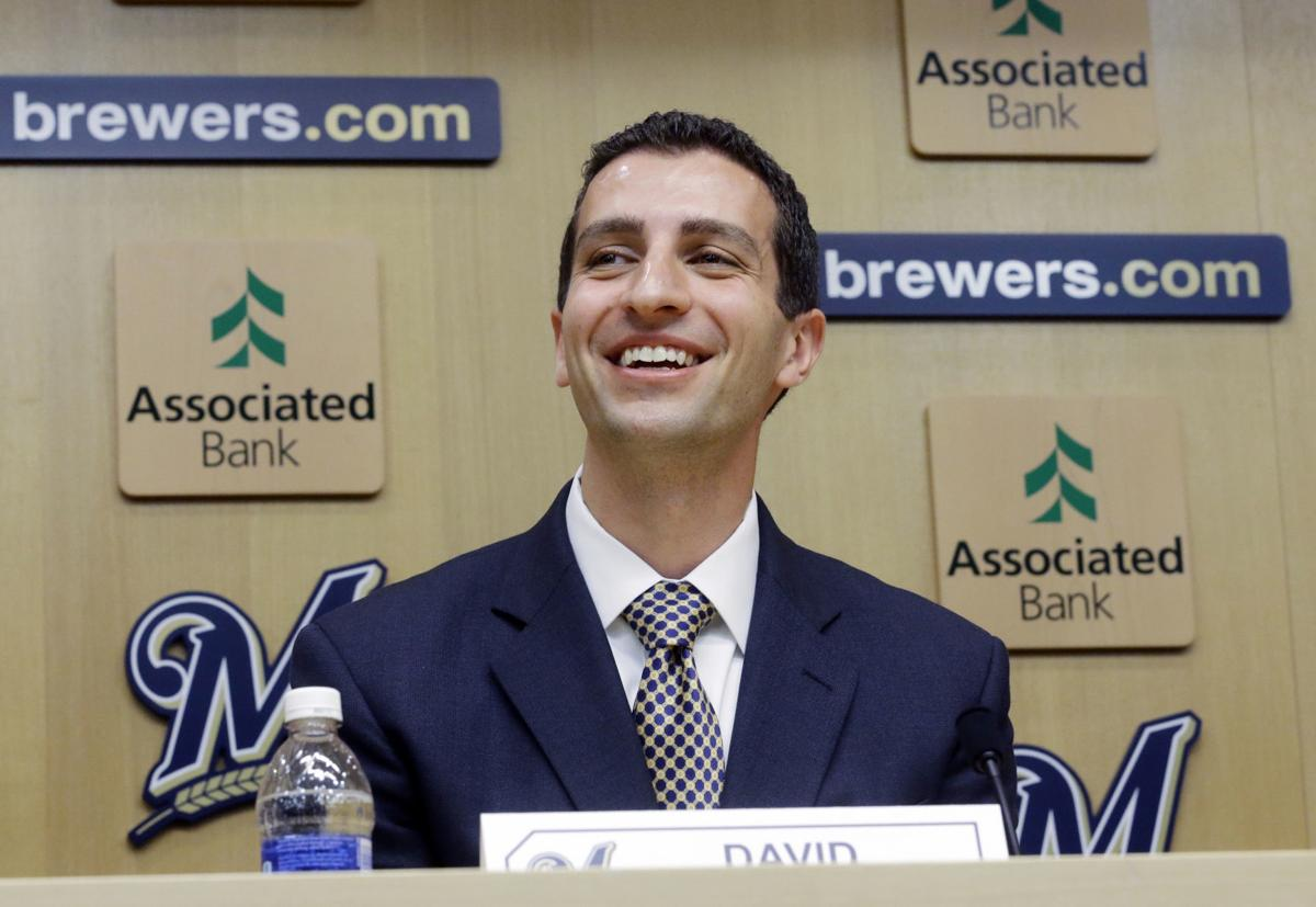 Milwaukee Brewers GM David Stearns