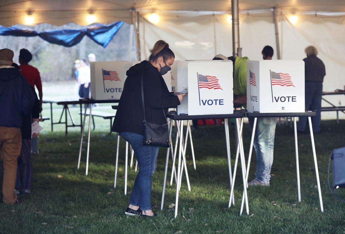 Voting at Elver Park