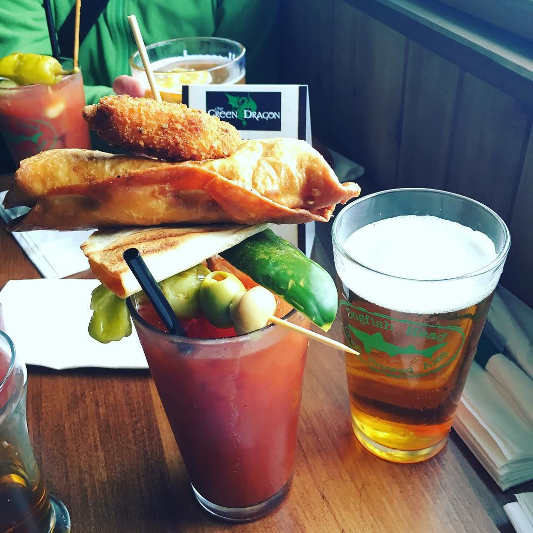 Green Dragon's bloody mary