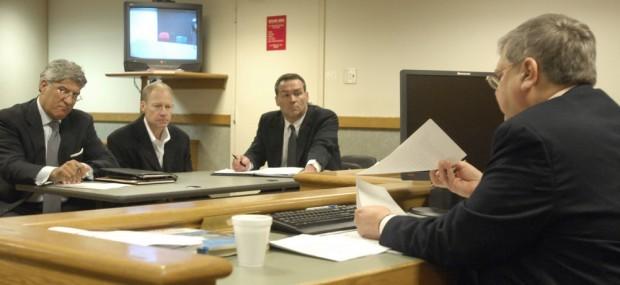 Curt Johnson in court