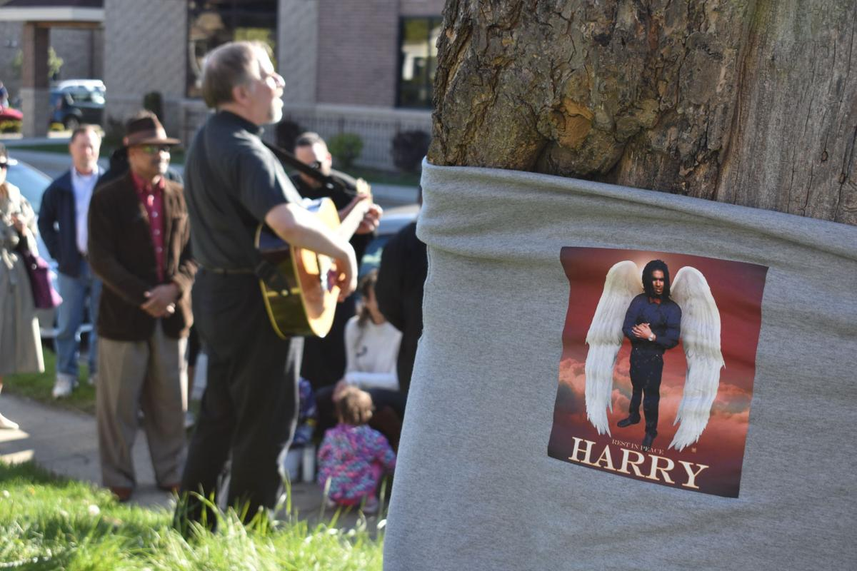 Harry Canady Jr. vigil