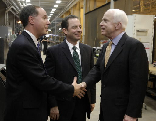 Reince Priebus, Robin Vos, John McCain
