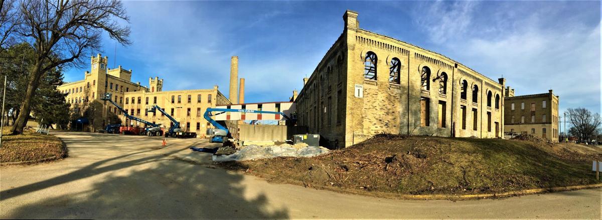 Horlick District Phase One development - Panorama View, November 2020