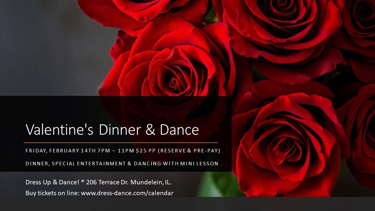 Valentines at Dress Up & Dance!