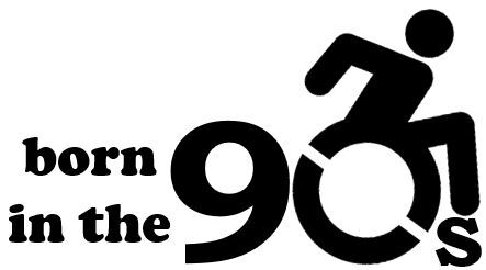 born in the 90s logo