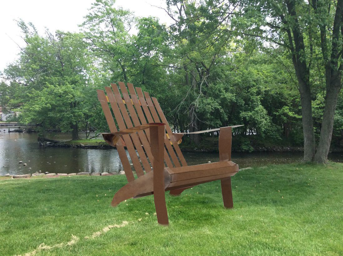 Big Adirondack Chairs Planned For Waterford